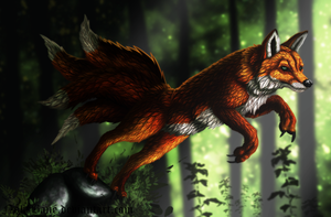 Mr Fox by NoktBane