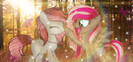 Amber Wings  and  Leigh Leigh | Request by BloodLover2222