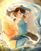 Legend of Korra (Day 16) by AmikaMangaka