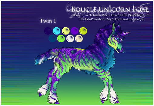 Boucle Foal F354 | Party Twin 1 by jouroo