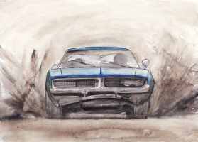 Charger on Mud by Dubrik