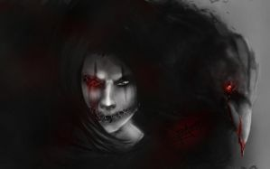 The Crow by Sh3ikha