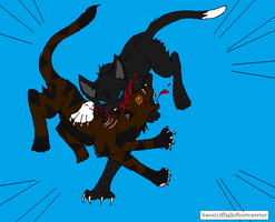 Scourge Vs Tigerstar by XxEeveeChanxX