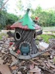 Pixie beach house bird feeder. by flintlockprivateer