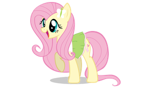 Pony EQG Fluttershy by 0ColorPaint0
