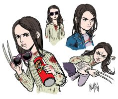 Logan: Laura Kinney by FelipeSmith