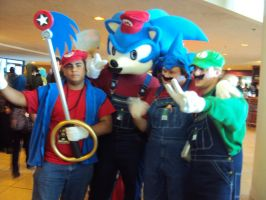 mario and sonic group by spartan049820