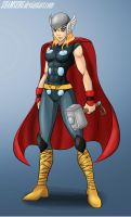 Rule 63 Thor By Shamserg by cerebus873