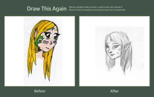 Draw This Again Meme Tatoo Elfe by ThroughMyThoughts