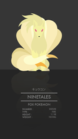 Ninetales by WEAPONIX