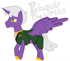 Pelaguis the Mad! by Maverickhunter2