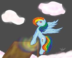 Rainbow Dash-Let's Get Down To Business by TheSisters2