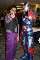 iron patriot and doctor dusk shine by nicoflare