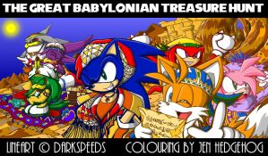 Sonic Riders Colouring Contest by JenHedgehog