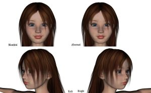 Dee custom Aiko 3 face morph by Emerald-Pheonix