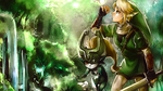 Link + Midna Wallpaper by Enigmarez