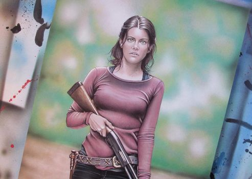 Maggie TWD by JcBerbes