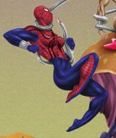 Tentacle Jigsaw 12: SpiderGirl by andrewr255