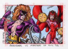 Titania vs Scarlet Witch - MGH by tonyperna