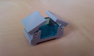 Mini Lego Freezer (Open) by MG18