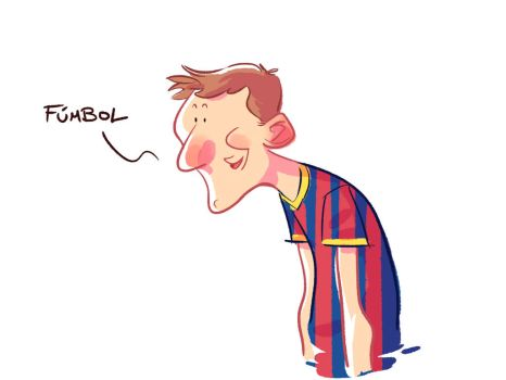 Messi by rueda