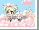 cotton candy cloud angel by tigrelustre316