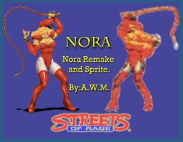 Streets of Rage. Nora. by Naliaw