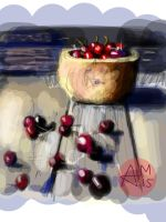 Cherries (70) by Hedwigs-art
