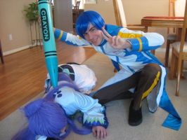 Kaito's Victory by BladeXD