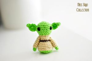 Little Yoda by MissBajoCollection