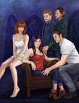 Winchesters and their angels by vongue