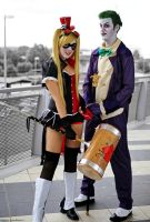 Harley Quinn and Mistah J by Elis90