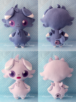 Espurr Plush by LightbulbsDesign