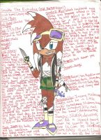 EDIT: Snake - My forth Sonic OC by Gangster-dog