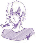 Stream Doodle - Damien by FrostedAlibi