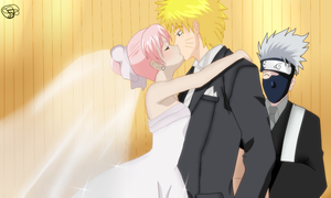 Narusaku Wedding: Perfect Two by seashellskeeper