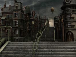 steampunk_street_2 by 3Djay