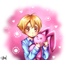 Ouran: Bunny Love by Sukesha-Ray