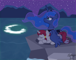 PC Peace of the Night by SaturnStar14