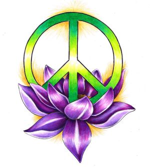Tattooscout - Forum - Peace-Zeichen Brustkorb : Tattoomotive