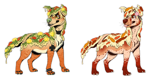 pizza dog batch {4} by kaijuparty