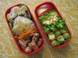 Spring Bento by CountessAudronasha