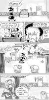 Touhou/Minecraft comic by Maarika