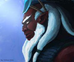 DOTA2 Disruptor by molcray