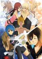 Kingdom Hearts _ The Kingdom by ISymphoniaKnightI