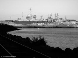 Warships At Peace by sbloom