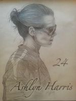 Ashlyn Harris by LCMorganArt