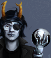 male vriska by m-z-k