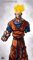 Future Gohan Commission by G-Chris