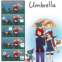 SoulSilverShipping: Umbrella (Big Vers) by iipotato